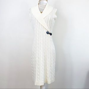 CALVIN KLEIN Knit Sweater Dress Size Small